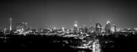 The Broadway Night Panorama-wide-b&w2-1-2