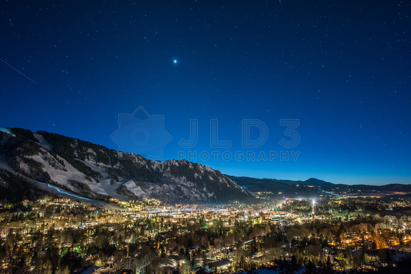 Aspen at Night