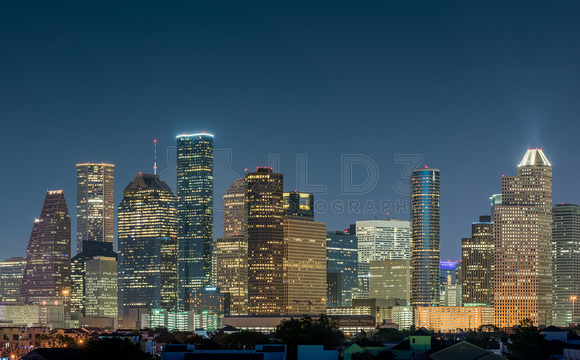 Houston Skyline 2016-2