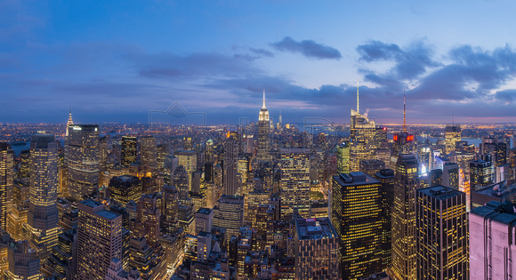 NYC Skyline Pano Top of the Rock v2